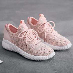 2019新款夏季鞋子女夏季网鞋透气女运动鞋轻便潮流百搭女学生跑步