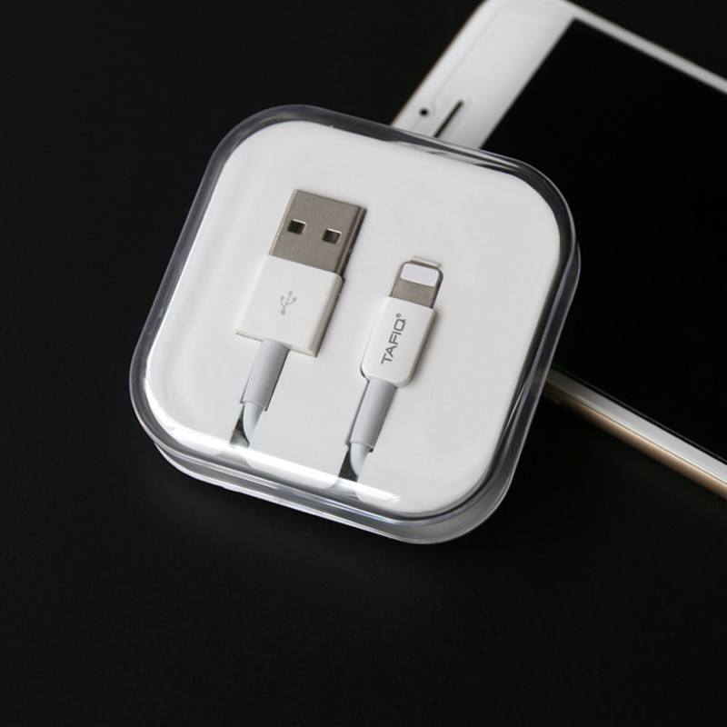 Brand Android 2A fast charging data line USB interface smart single head iPadiPhone mobile phone charging line