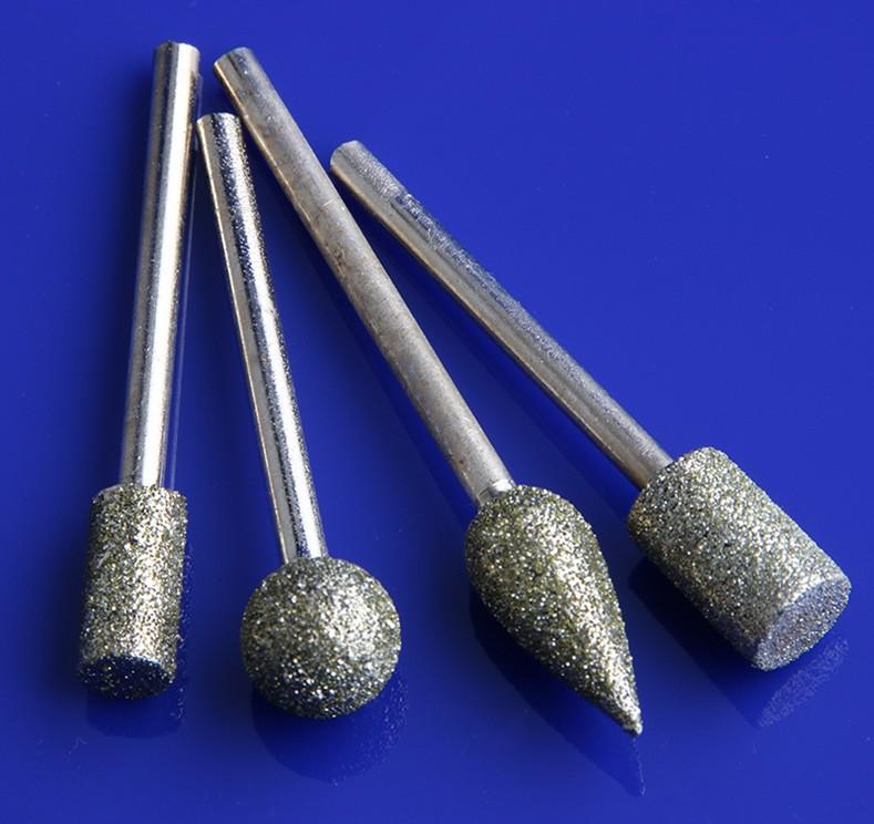 Tête de meulage 3mm poignée électrique perceuse avec une poignée corindon interne meulage petite roue de polissage de la gaze