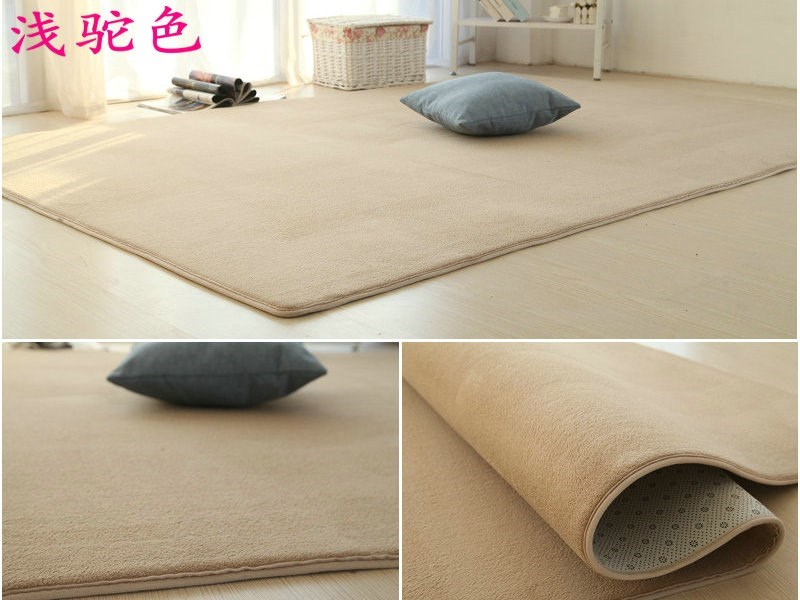 Thick covered with tatami carpet in the living room coffee table modern minimalist home sofa bed pad Plush bedroom carpet