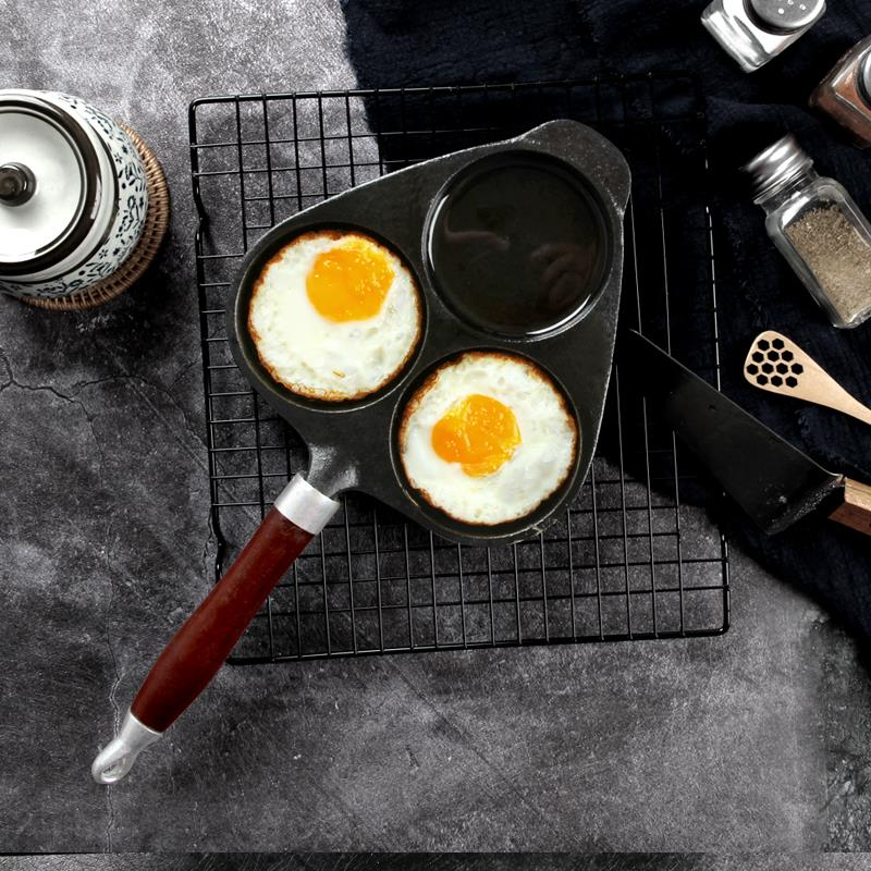 Mini dumplings Fried Eggs small skillet pan 12cm 1000 skin Poached Egg buzhanguo electromagnetic gas stove