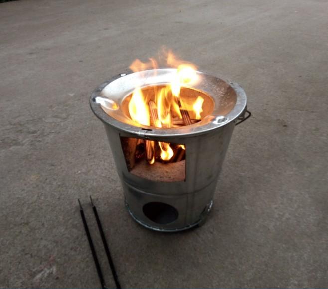 открытый мини - дрова в печь высокой ноги нержавеющей стали плиту кемпинг пикник алкоголь печи двухкамерных портативный дрова в печи углерода