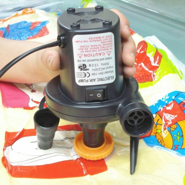 12v средство 220v домакински играчки за газ да зарежда леглото плува в кръг, нагнетателна басейна електрическа помпа
