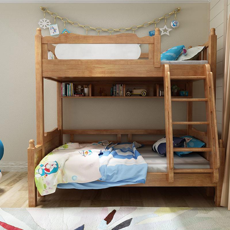 Der neue Laden alle Kinder der Mutter im Bett Bett multifunktions - kinder unter schlafzimmer MIT Bett und kombination aus massivem Holz