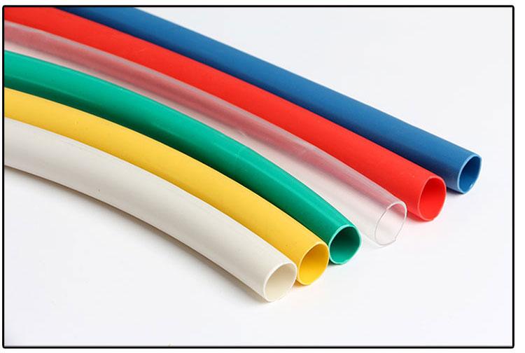 rdeči paketno pošto z dvojno steno toplotne cevi, cevi, 3 - krat lepilo 1.6-39 toplotno krčenje cevi odebeljen gorenja