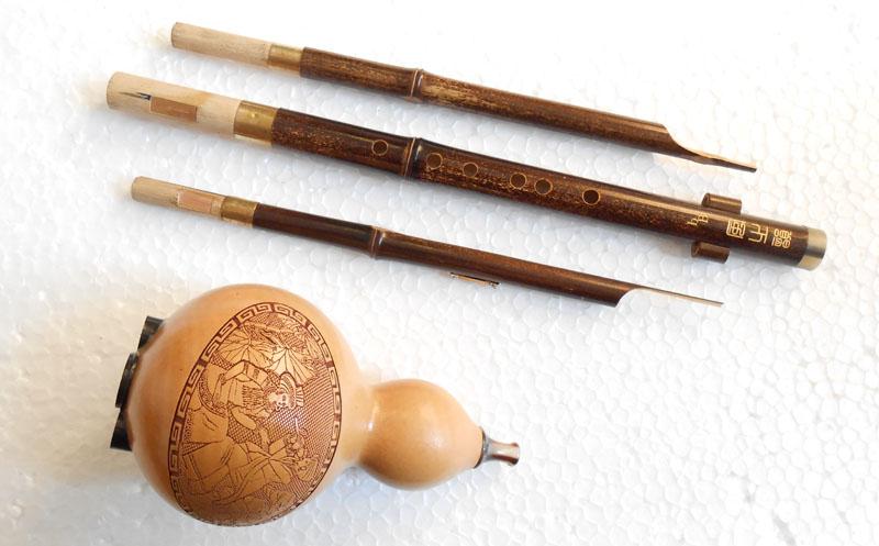 La venta directa de la fábrica de instrumentos musicales de Reed de cuerno la boquilla, D, C, B, G y f hulusi v300