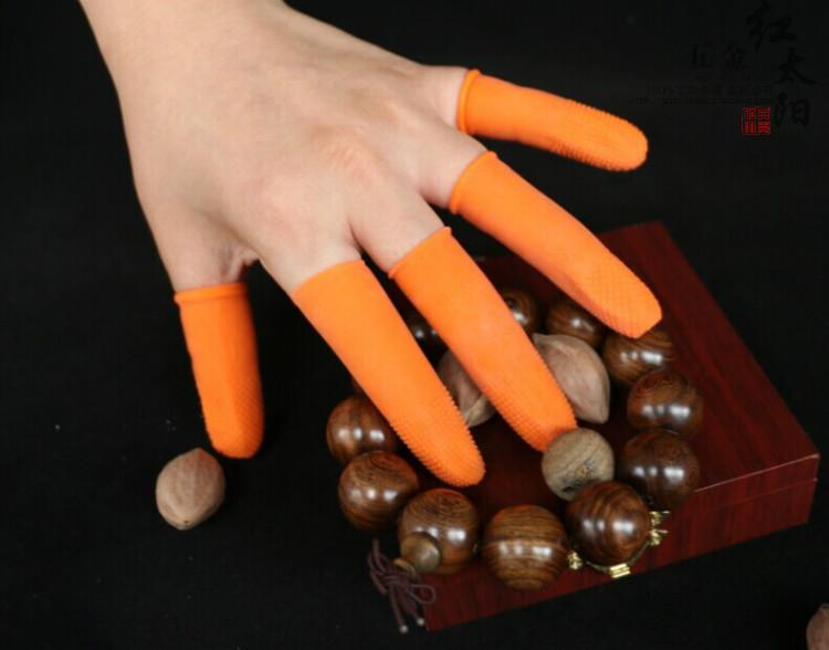 Hochwertige einweg - finger - Gummi - industrie zählen die Finger auf die Finger Dick