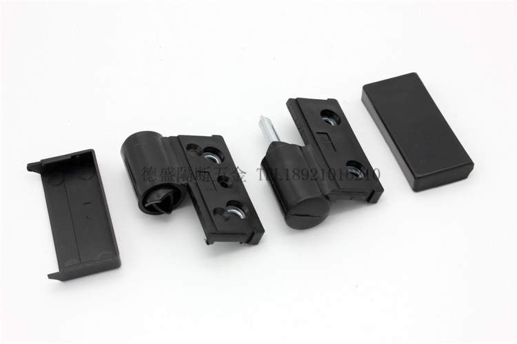 Toilet partition fittings, nylon plastic hinge, toilet door, partition hinge, automatic door closing and folding door hinge