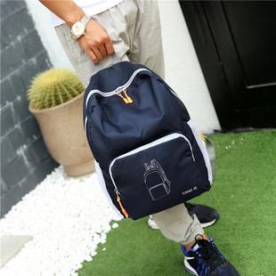 男包双肩包男休闲背包折叠运动包学生书包大容量便携旅行背包包