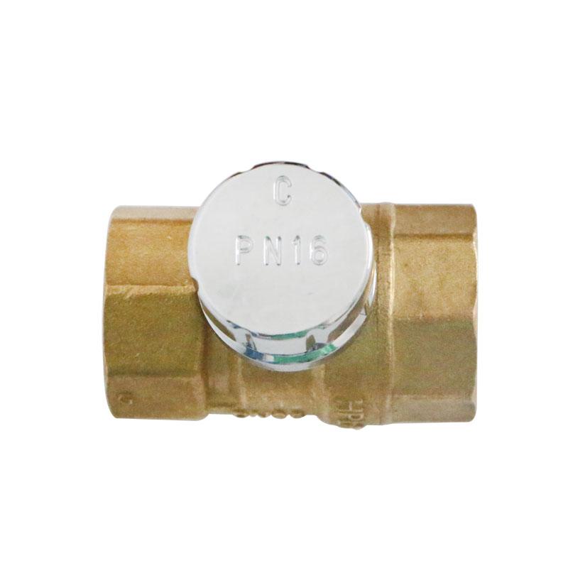 Una Valvola di chiusura 296A Ottone con serratura magnetica Palla Palla antifurto totale della Valvola Anti - Valvola di rubare l'Acqua
