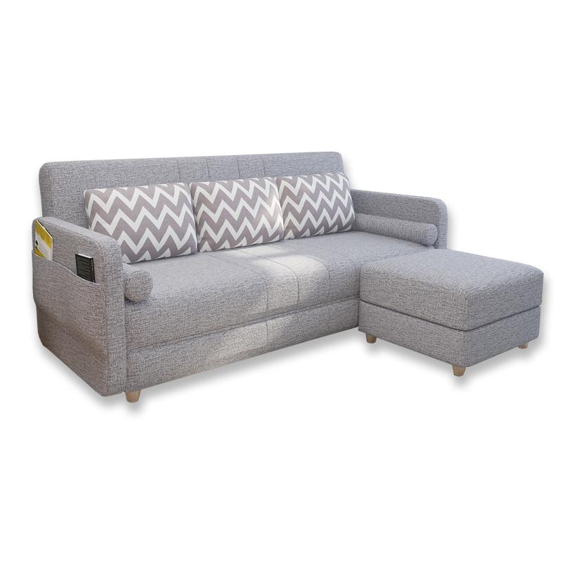 Το μικρό μέγεθος του καναπέ - κρεβάτι πτυσσόμενου σαλόνι διπλό ύφασμα 1,2 m 1,5 πολυλειτουργική σύγχρονη διπλής χρήσης τρία άτομα 1,8