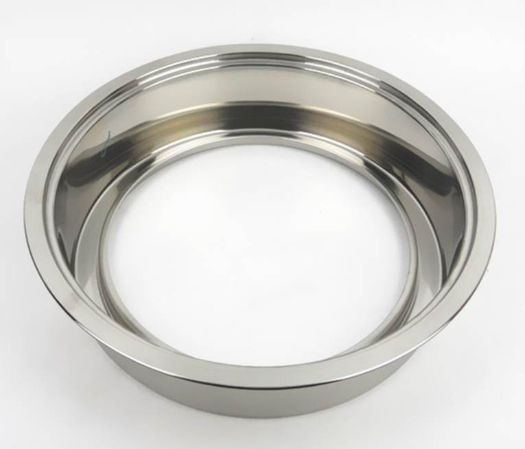 Stainless steel round without purification equipment for induction cooker coil Hot pot Yuanyang sink embedded suction ring table