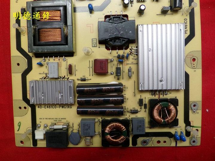 TCLL55V7300A-3D τηλεόραση LCD αρχική δύναμη του σκάφους 40-E461C0-PWG1XG