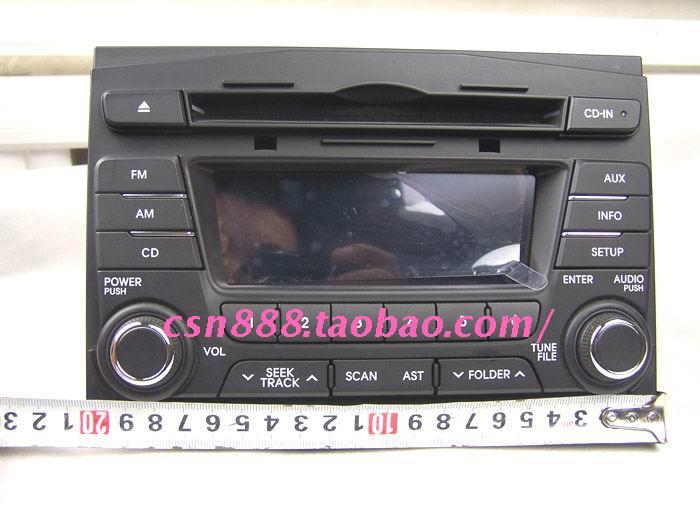 汽车CD机接线口说明 起亚K3 K5 起亚智跑高清图片