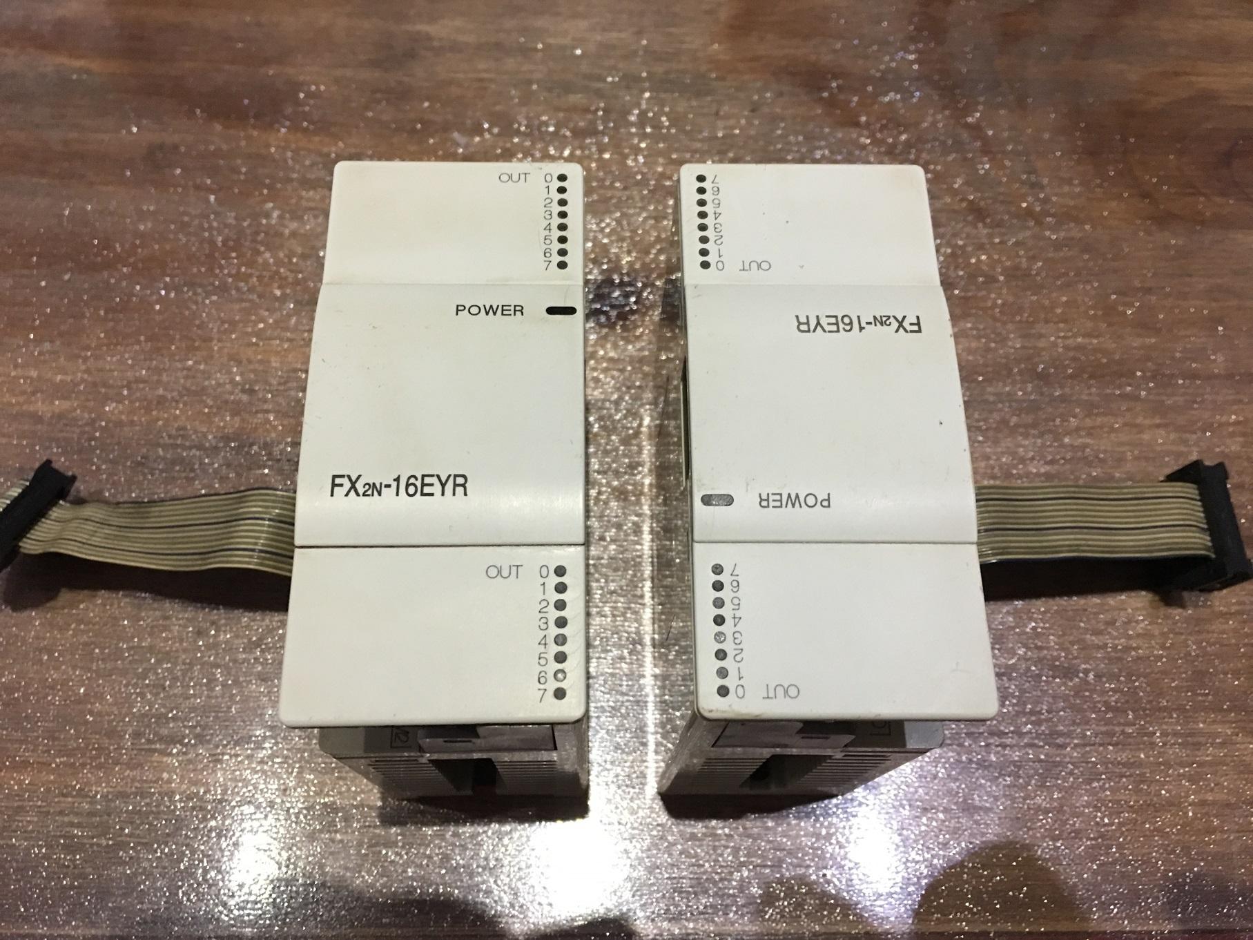 三菱FX2NシリーズPLCモジュールFX2N-16EYR