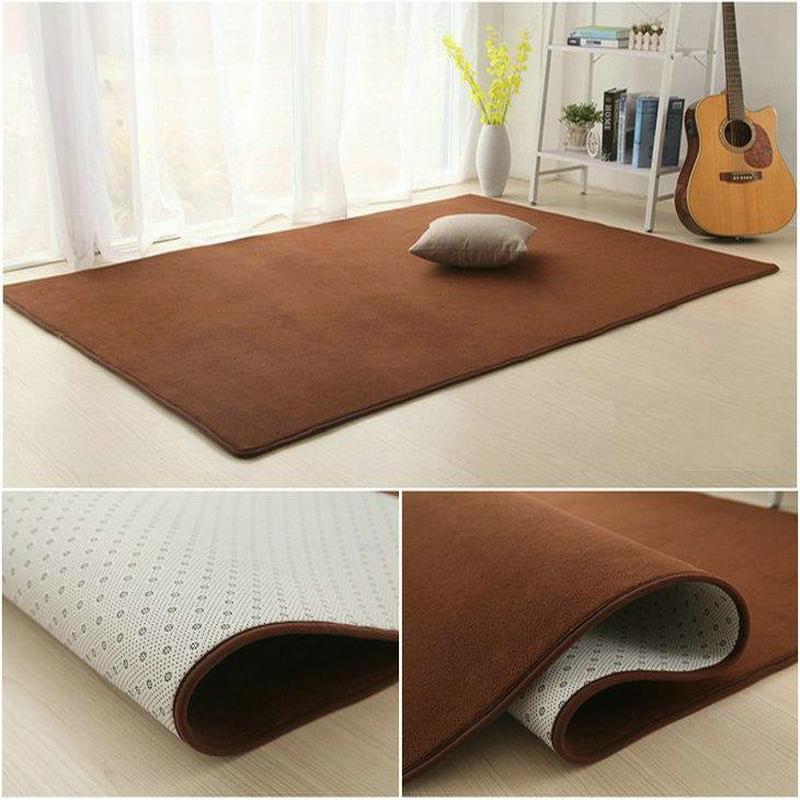 Summer cloth room tatami mats cushion blanket universal life mat Nordic fresh pink carpet in the living room