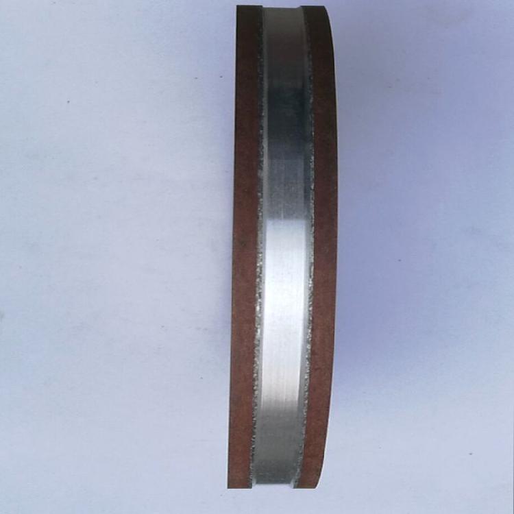 天然ダイヤモンド両面凹砥石(PSA)樹脂砥石磨硬質合金チップソー歯のタングステン鋼の砥石
