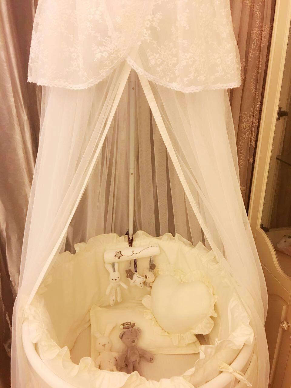 Σχέδιο μωρό στρωμνής καθαρό ύφασμα γύρω από το κρεβάτι Βαμβάκι Βαμβάκι κρεβάτι γύρω από το κρεβάτι. - το μωρό ελλειπτική κρεβάτι αγαθών