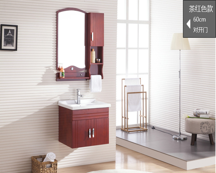 Oak bathroom cabinet combines modern Chinese cabinet, bathroom ware, washbasin cabinet, washbasin cabinet, combination cabinet, clock cabinet