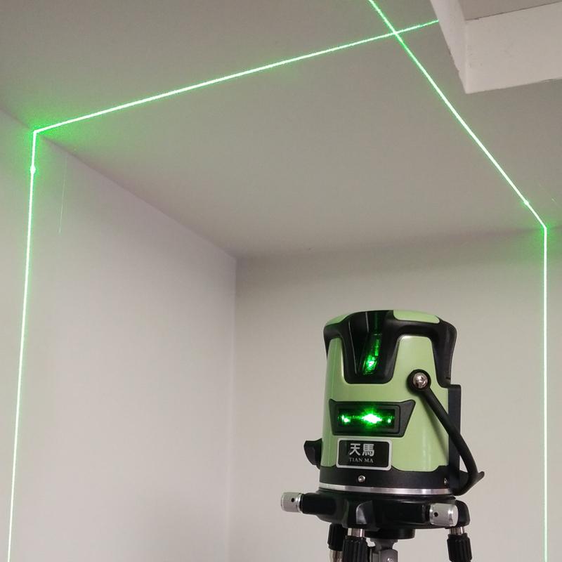 สายสีเขียว 2 อินฟราเรดระดับความแม่นยำสูงนำเข้าจากเยอรมัน 3 สายสาย 5 ระดับซูเปอร์เลเซอร์แสงกลางแจ้ง