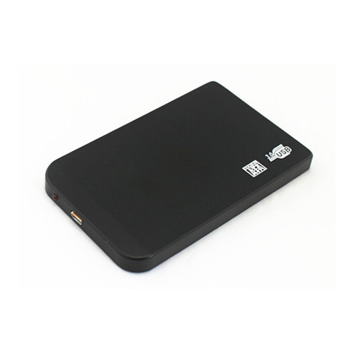 2,5 pouces de disque dur sans vis en alliage d'aluminium métallique ultra - mince de cartouche de disque dur mobile USB 3.0