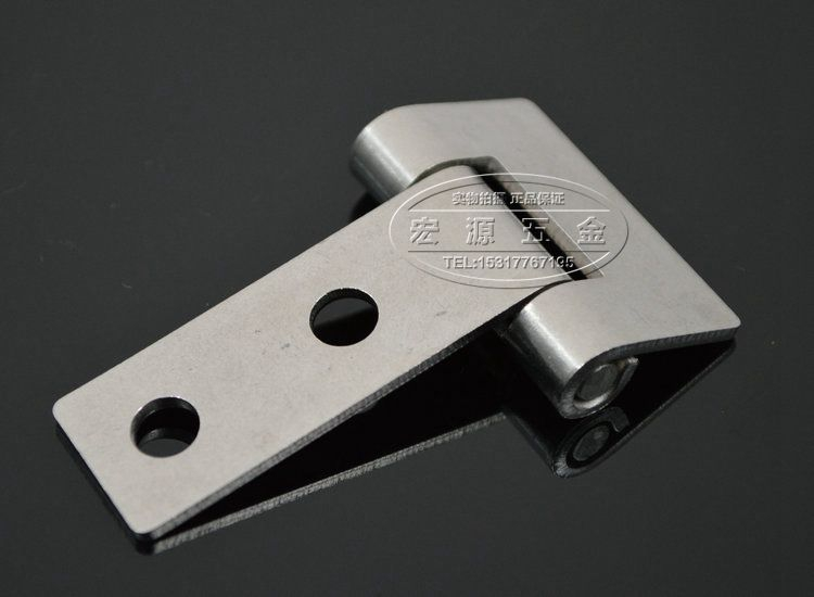 肥厚304ステンレス工業重オーブン冷蔵庫蒸し櫃ヒンジT型ヒンジ折りたたみ翻板ヒンジ40 mm