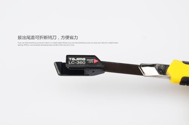 Tajima Messer tapete Messer tapeten - Japan Tajima Messer - trompete Schwarze Klinge Hand.