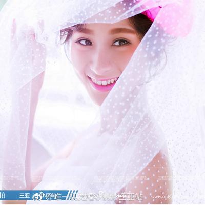 新娘波点头纱超长绒点点韩式旅拍照造型婚纱头纱新款 百搭遮面纱