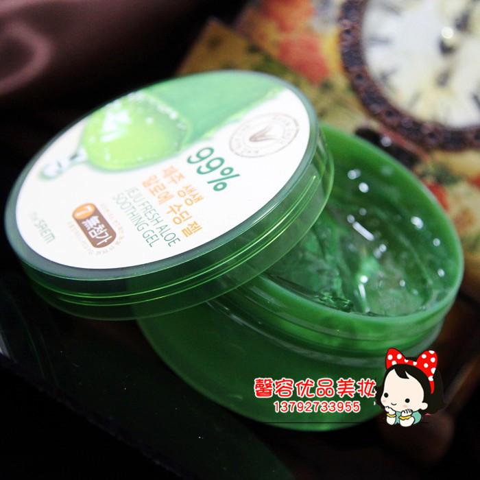 jižní korea thesaem se 300ml krém aloe gel z 99 uklidňující krémy 晒后 masku.