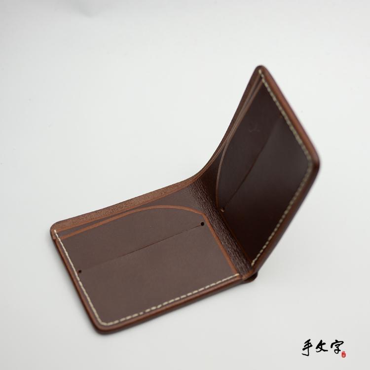 手文字偶屿 短钱夹 | showbagnow