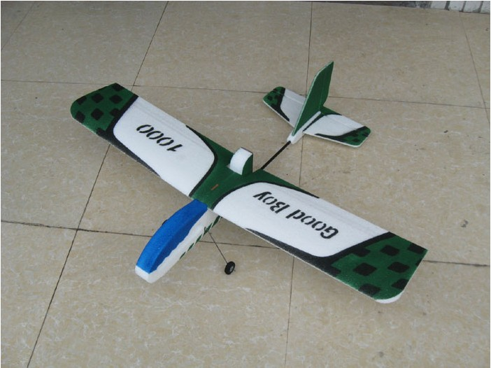 Remote control model aircraft good kid 1000 four-channel fixed-wing model aircraft fluttering machine EPP complete