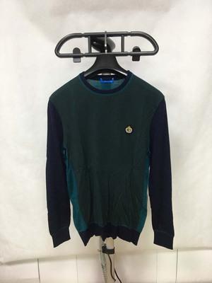 PMY-150-175/96A鸟牌男士春秋厚度园领套头羊毛衫原单