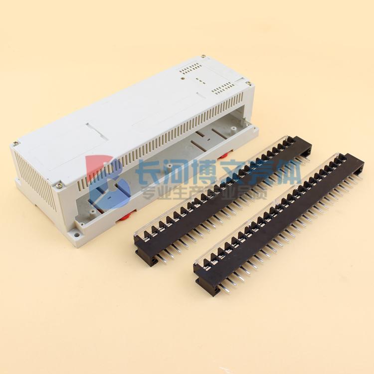 計器殻ガイドインストール箱PLC労働者の訴える殻機器制御プラスチック結線殻* 110 * 65mm 250