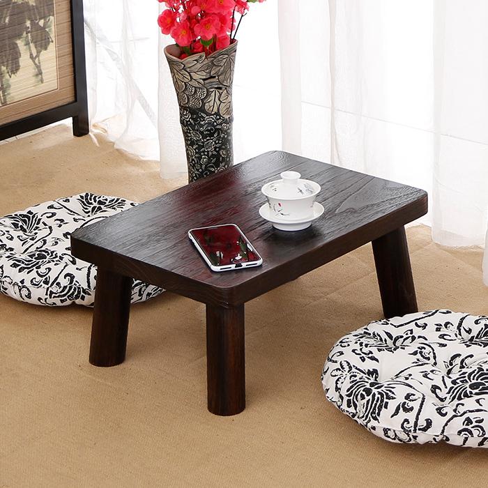 træ, små te tabel over sengen, tabel, tabel bord til bord platform piaochuang balkon guoxue tabel kang tatami