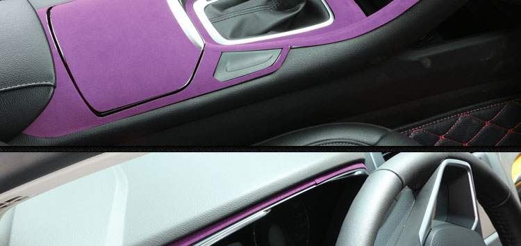 车身贴 汽车内饰贴膜 天鹅绒内饰贴膜 高档内饰改装贴膜 汽车改色膜 高清图片
