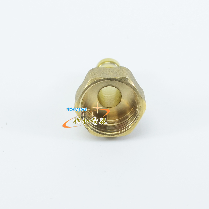 Household gas water heater fittings gas pipe connector mouth 4 wire joint copper wire