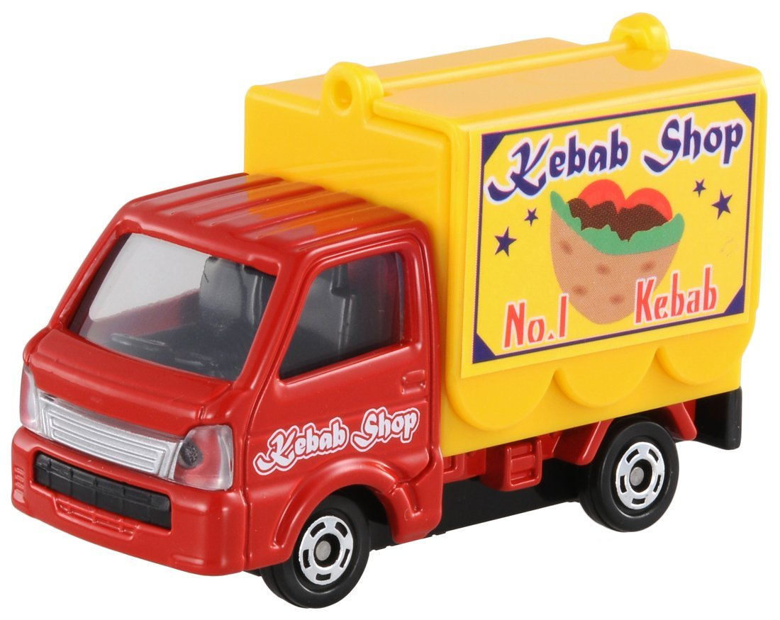 [Japan spot] TOMICA/TOMY alloy car NO.57/ static model car vending truck barbecue truck