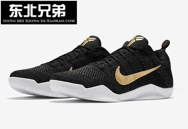 NikeKobe11GCRZK11 black gold Asia China Travel 885869-070