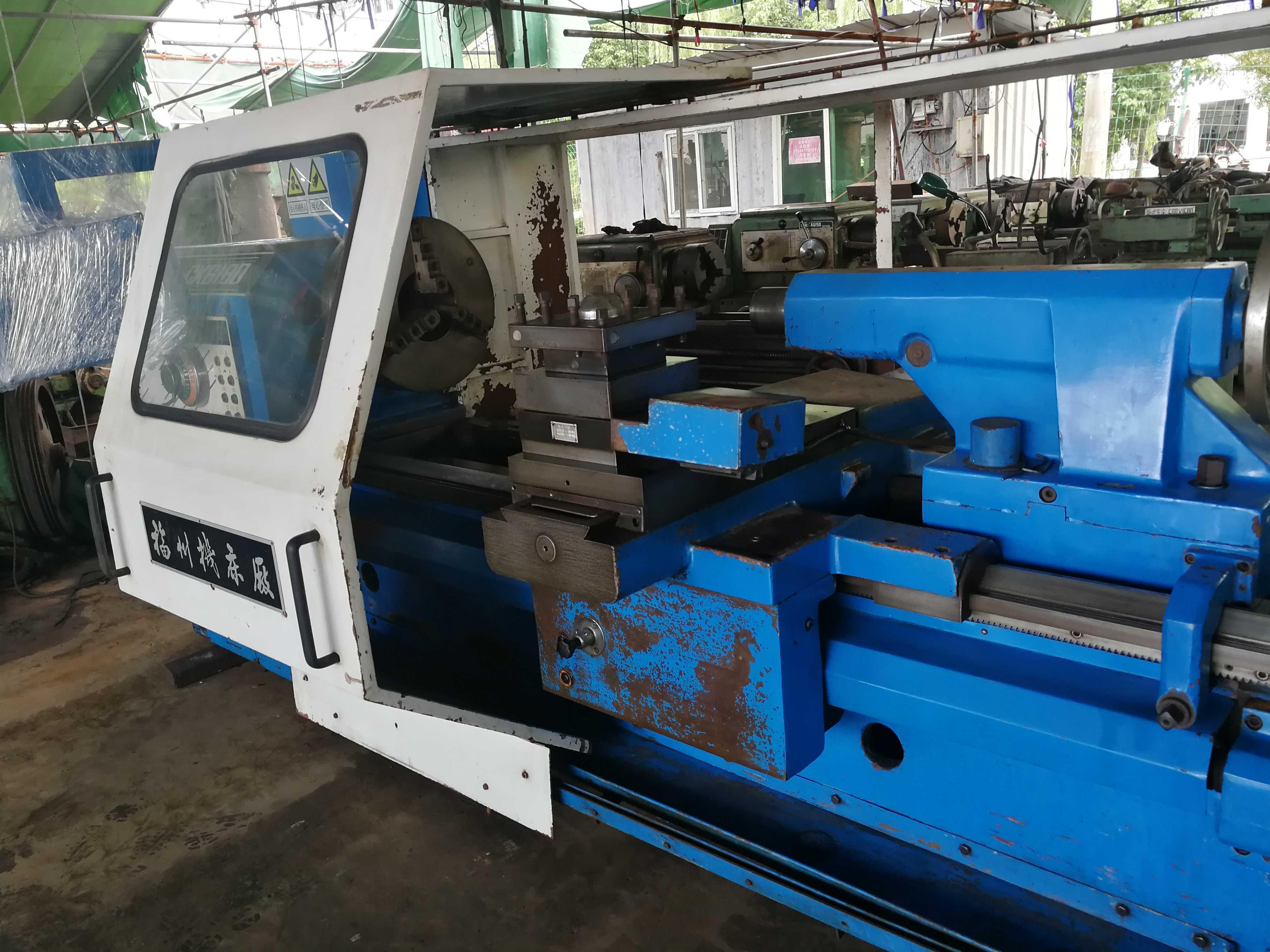 Di seconda Mano DI MACCHINE UTENSILI CNC CK6180X1500 Fuzhou ampio Numero del 2010