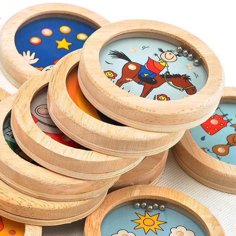 Frühkindliche Bildung - Holz - Labyrinth - Spiel für Kinder im kindergarten - kinder der Region material spielzeug