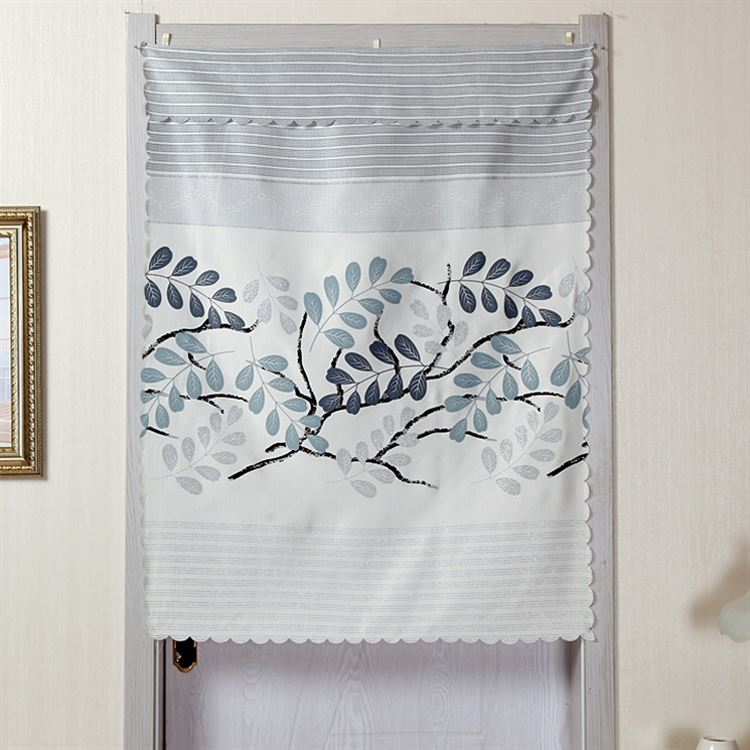 The living room bedroom bathroom kitchen curtain curtain semi partition door curtain curtain half Hotel short curtain fabric