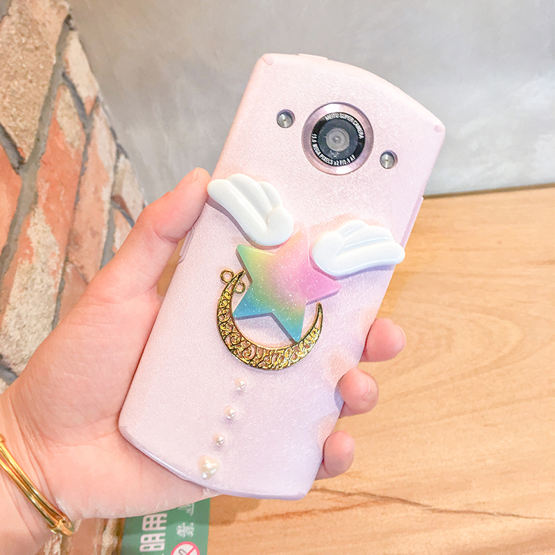 Star magic wand T8 Mito M8 mobile phone shell M6/M6s all inclusive anti fall V4s/M4s silicone soft shell hanging neck female