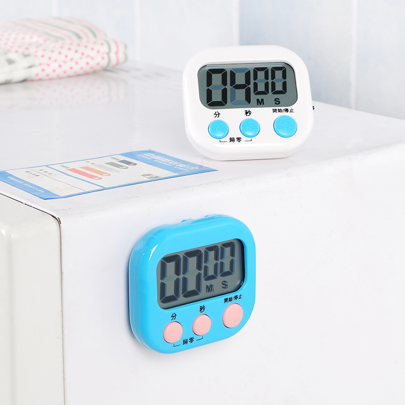 Kitchen cooking and baking timer countdown stopwatch timer alarm clock student electronic reminder