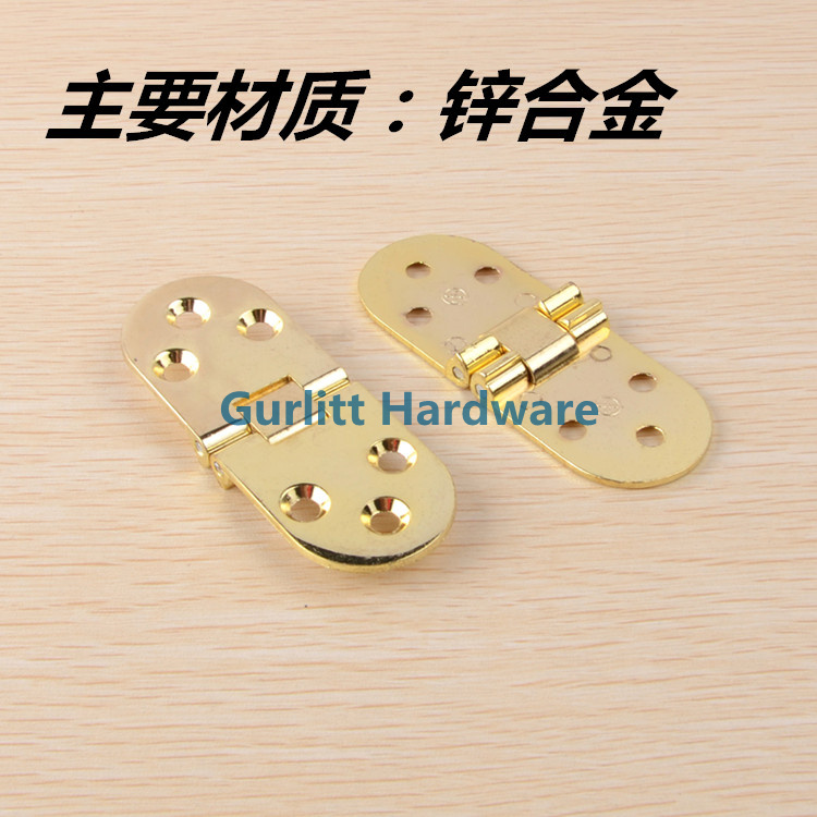 Thickening table top hinge, cabinet door hinge, door door hinge, copper hinge plate hinge, table folding hinge