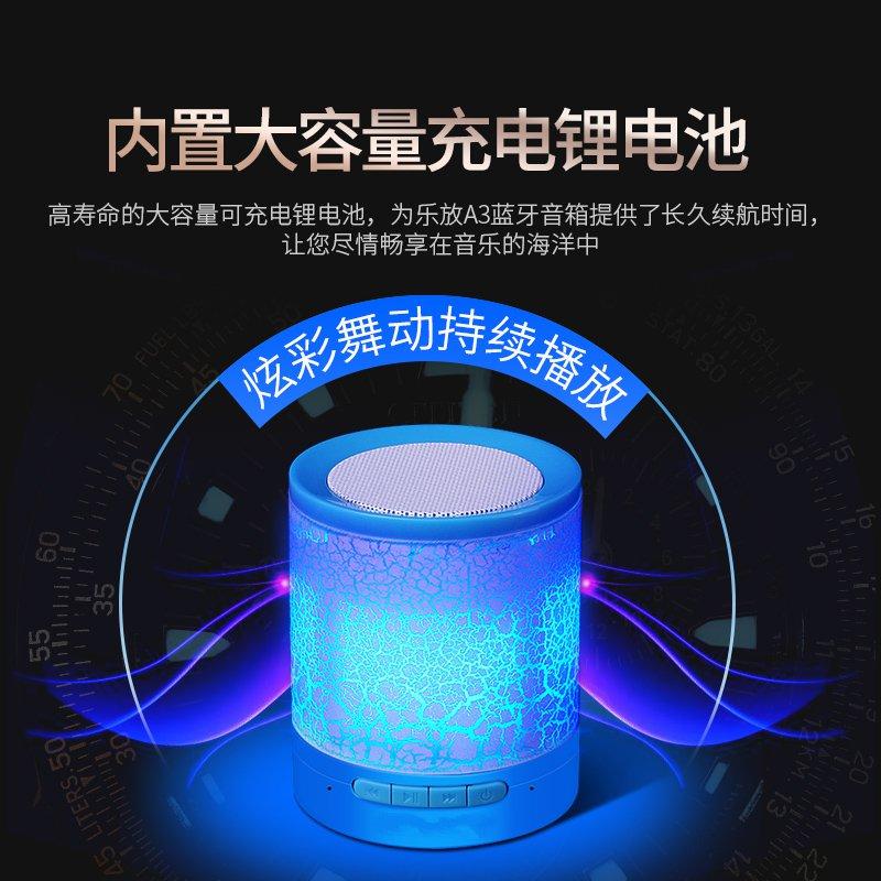 Bluetooth - lautsprecher und subwoofer Portable stereo - Outdoor - übergewicht von Kleinen stereo 3D surround, Bunte lichter super Laut