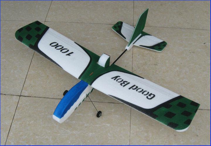 Modelo de avión de control remoto good kid 1000 máquina de aleteo de cuatro canales modelo de avión de ala fija EPP completa