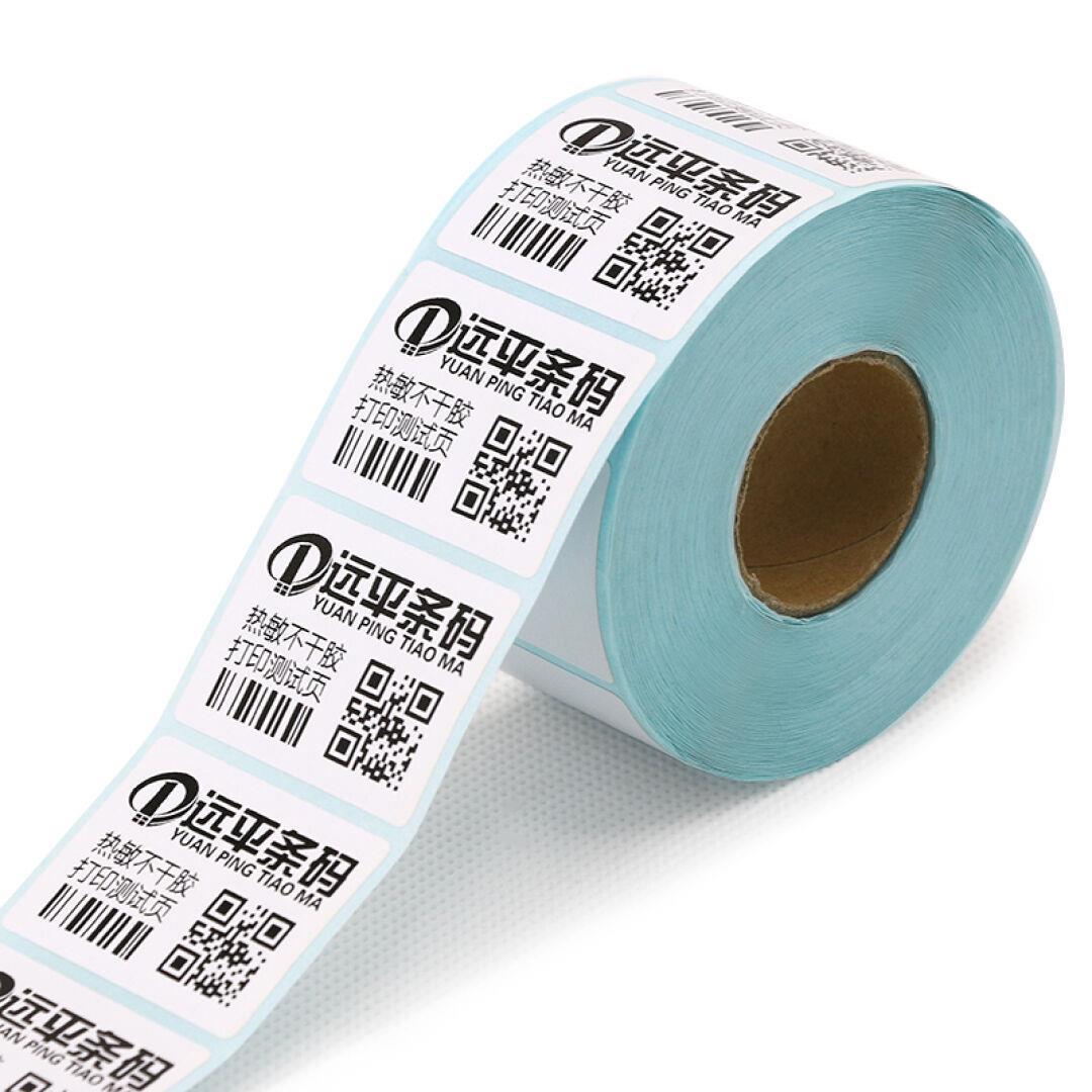 messze sík vonalkód hőérzékeny papír címke öntapadó nyomtatott papír cetlit méter 40mm*30mm*700 a egy sor