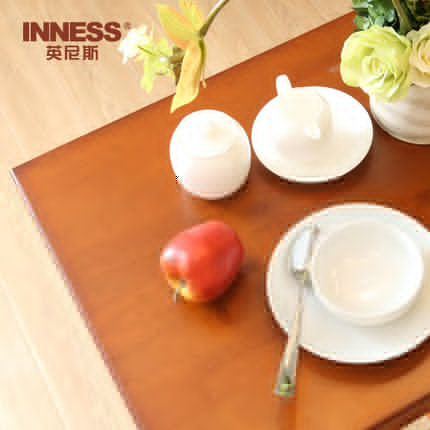 Innis all solid wood table and chair, leisure desk and chair combination, simple breakfast table, partition bar, small family dining table