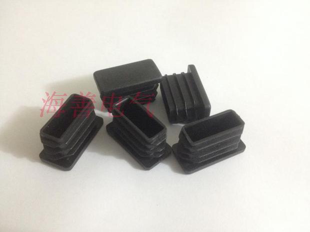 Elliptical plug plastic plug rubber plug side through sealing plastic pipe plug plastic tube plug 30*50 rubber plug