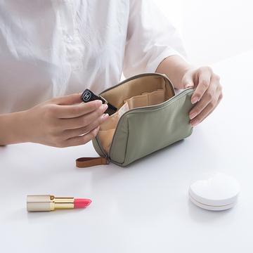 韩国化妆包简约淑女迷你洗漱包防水小号便携手拿随身旅行收纳包袋